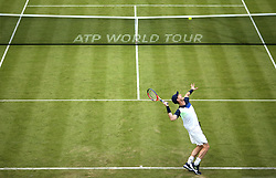 England's Andy Murray during day two of the Fever-Tree Championship at the Queens Club, London.