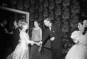 Centenary Ball at the Shelbourne Hotel, Dublin..12.01.1967