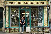 France, Paris, Boulangerie on Bd. Beaumarchais