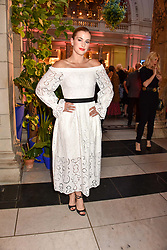 """Stefanie Martini at the opening of """"Frida Kahlo: Making Her Self Up"""" Exhibition at the V&A Museum, London England. 13 June 2018."""