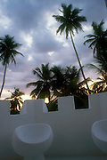 From the balcony of the Sun House in Galle
