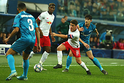 November 5, 2019, St. Petersburg, Russia: Russian Federation. Saint-Petersburg. Gazprom Arena. Football. UEFA Champions League. Group G. round 4. Football club Zenit - Football Club RB Leipzig. Player of Zenit football club Serdar Azmun  (Credit Image: © Russian Look via ZUMA Wire)