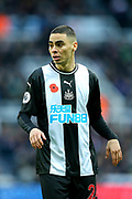 Miguel Almiron (#24) of Newcastle United during the Premier League match between Newcastle United and Bournemouth at St. James's Park, Newcastle, England on 9 November 2019.