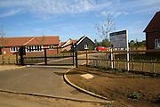 Bushey Park new luxury housing development, Bushey Lane, Hollesley, Suffolk, England