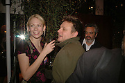 TUULI SHIPSTER AND RANKIN. Champagne reception celebrating 100 years of Chinese cinema  hosted by Hamish McAlpine of Tartan Films, Raising money for Care For Children, a foster care programme in China. Aspreys. New Bond St. London. 25 April 2006. ONE TIME USE ONLY - DO NOT ARCHIVE  © Copyright Photograph by Dafydd Jones 66 Stockwell Park Rd. London SW9 0DA Tel 020 7733 0108 www.dafjones.com