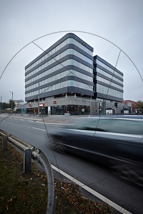 MOE Domicil i Buddinge, nybyggeri af kontorlokaler, Sophienberg Ejendomsudvikling , eksteriør, facader