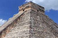 The historic Mayan site of Chichen Itza on the Yucatan Peninsula of Mexico, Central America.