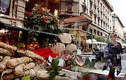 Bologna, gastronomy shop