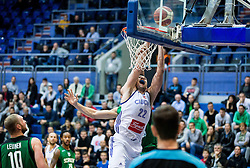 Emir Sulejmanovic of Cibona during basketball match between KK Cibona Zagreb (CRO) and Sidigas Avellino (ITA) in Round #3 of FIBA Champions League 2016/17, on November 1, 2016 in Dražen Petrović Basketball Hall, Zagreb, Croatia. Photo by Vid Ponikvar / Sportida