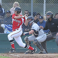 Leland vs Westmont in a BVAL Baseball Game at Westmont High School, Campbell CA on 3//23/2018. (Photograph by Bill Gerth/ for SVCN) (Leland 9 Westmont 8)