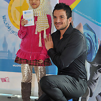 26.01.2012.Peter Andre at City Hall for a school-children's prize giving morning. Photography (C) Blake-Ezra Cole. www.blakeezracole.com