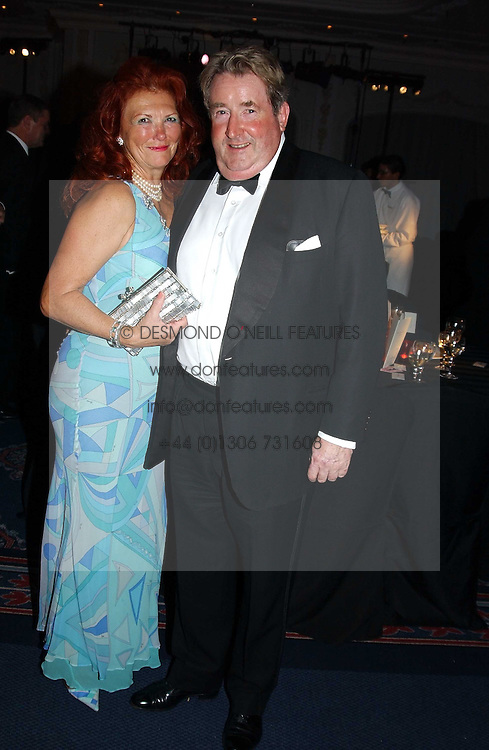 SIR WILLIAM & LADY MCALPINE at the 2004 Cartier Racing Awards in association with the Daily Telegraph, held at the Four Seasons Hotel, London on 17th November 2004.<br /><br />NON EXCLUSIVE - WORLD RIGHTS
