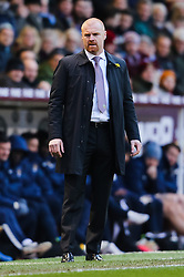 Burnley Manager Sean Dyche - Photo mandatory by-line: Matt McNulty/JMP - Mobile: 07966 386802 - 14/03/2015 - SPORT - Football - Burnley - Turf Moor - Burnley v Manchester City - Barclays Premier League