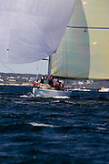 Wright on White KZ 3, Grand Prix class at the 12 Meter Class North American Championship