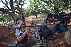 JUNE 26 2013 Rebels control and monitor the important Shia town north-east Idlib of Foa'h.