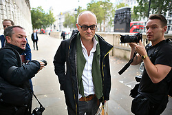 © Licensed to London News Pictures. 12/09/2019. London, UK. DOMINIC CUMMINGS is seen in Westminster, London. A Scottish court yesterday ruled that the suspension of Parliament by British PM Boris Johnson was illegal. Photo credit: Ben Cawthra/LNP