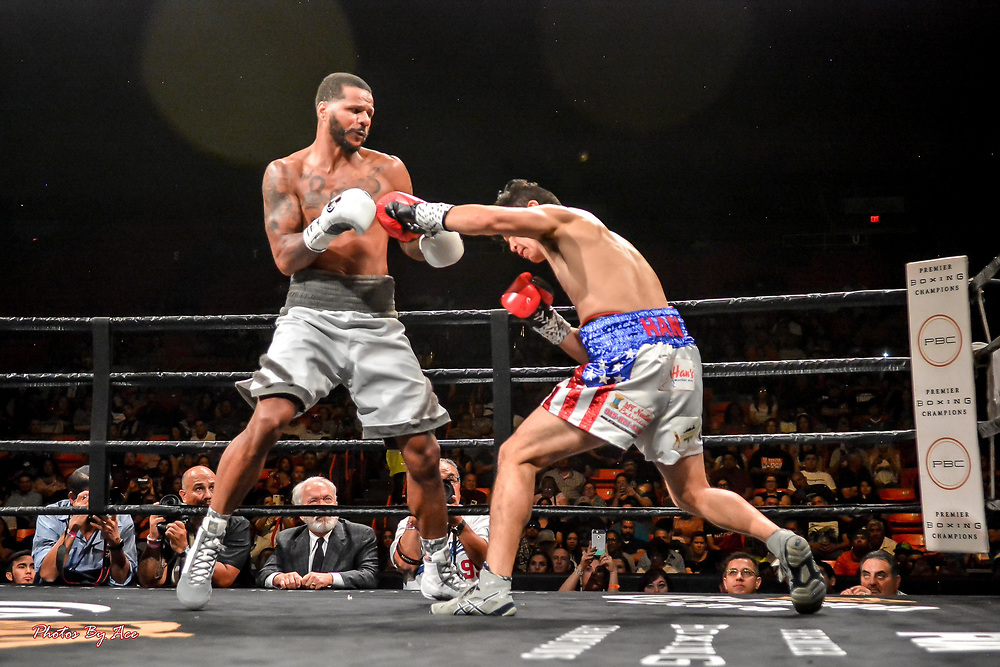 Anthony Dirrell vs Abe Han PBC Boxing at the Don Haskins Center, April 28, 2018 Andres Acosta/ El Paso Herald-Post
