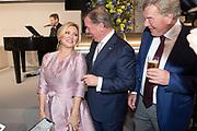 Tatjana Simic tijdens de viering van driehonderd jaar brouwerij Bavaria. Het bedrijf wordt geleid door de zevende generatie van de familie Swinkels.