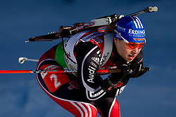 Magdalena Neuner of Germany during the Women 7,5 km Sprint of the e.on IBU Biathlon World Cup on Saturday, December 18, 2010 in Pokljuka, Slovenia. The fourth e.on IBU World Cup stage is taking place in Rudno polje - Pokljuka, Slovenia until Sunday December 19, 2010. (Photo By Vid Ponikvar / Sportida.com)