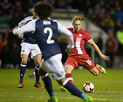Canada&rsquo;s Scott Arfield fires in a shot  - Scotland v Canada, friendly international at EasterRoad, Edinburgh.Photo: David Young<br /> <br />  - &copy; David Young - www.davidyoungphoto.co.uk - email: davidyoungphoto@gmail.com