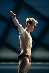 Jack Laugher from City of Leeds Diving Club competes in the Mens 3m Springboard - Mandatory byline: Rogan Thomson/JMP - 11/06/2016 - DIVING - Ponds Forge - Sheffield, England - British Diving Championships 2016 Day 2.