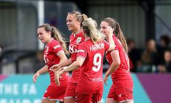 Bristol City Women celebrate Rosella Ayane's second goal against Oxford United Women - Mandatory by-line: Robbie Stephenson/JMP - 25/06/2016 - FOOTBALL - Stoke Gifford Stadium - Bristol, England - Bristol City Women v Oxford United Women - FA Women's Super League 2