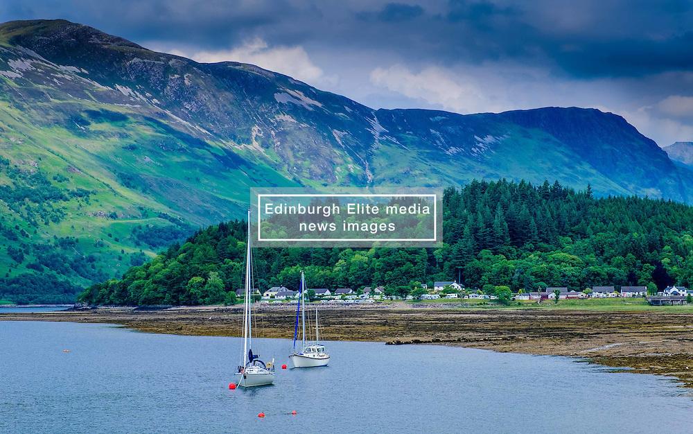 The village of Glencoe and Loch Leven<br /> <br /> (c) Andrew Wilson | Edinburgh Elite media