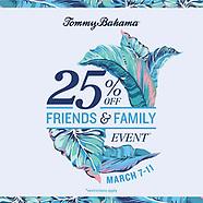 Tommy Bahama 2019 - Friends & Family