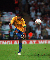 Photo: Tony Oudot.<br /> England v Brazil. International Friendly. 01/06/2007.<br /> Ronaldinho of Brazil