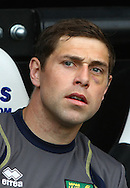 Picture by Paul Chesterton/Focus Images Ltd.  07904 640267.18/03/12.Grant Holt of Norwich sporting a black eye before the Barclays Premier League match at St James' Park Stadium, Newcastle.