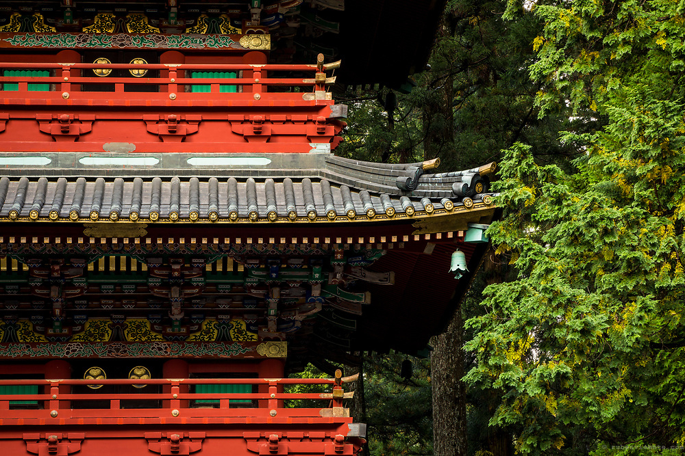 Gojunoto five story pagoda. Nikko, Japan