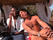 Marcel Desailly in St Tropez07/10/2004
