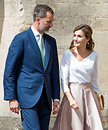 Queen Letizia & King Felipe Visit Oxford University