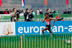 Atelaw Yeshetela Bekele of Belgium during the Senior Men's race during the 18th SPAR European Cross Country Championships Velenje 2011, on December 11, 2011 in Stadium Ob jezeru, Velenje, Slovenia. (Photo By Matic Klansek Velej / Sportida.com)