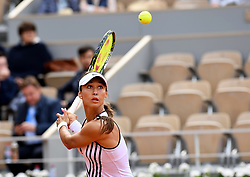 May 27, 2019 - Paris, France, F - Tennis : Roland Garros 2019  - Vitalia Diatchenko - Russie (Credit Image: © Panoramic via ZUMA Press)