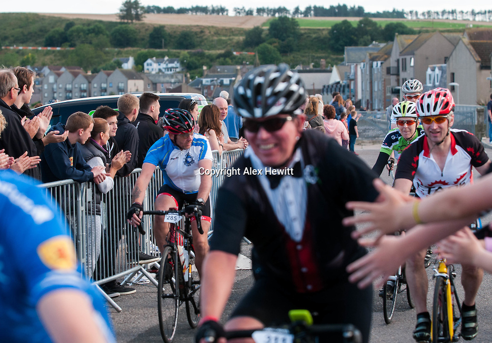 Ride the North 2015<br /> Finish Line in Stonehaven<br /> <br /> picture by Alex Hewitt<br /> alex.hewitt@gmail.com<br /> 07789 871 540