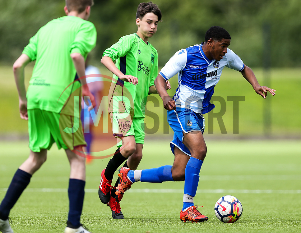 Bristol Rovers Community Trust v Bristol City Community Trust Premier League Kicks match - Rogan Thomson/JMP - 10/06/2017 - FOOTBALL - South Bristol Sports Centre - Bristol, England.