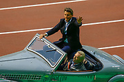 Lord Sebastian Coe, President of the IAAF, during the Opening Ceremony of IAAF Diamond League event at the King Baudouin Stadium, Brussels, Belgium on 6 September 2019.