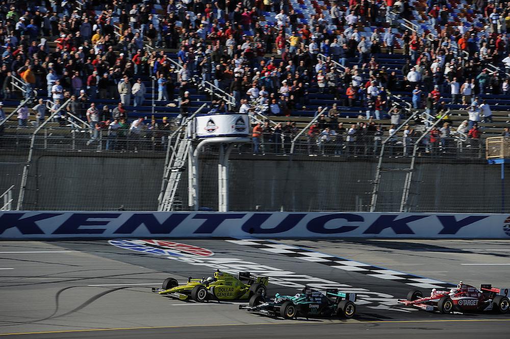 Ed Carpenter, Kentucky Indy 300, Kentucky Speedway, Sparta, KY USA 10/2/2011