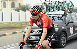 March 1, 2019 - Dubai, Emirati Arabi Uniti, Emirati Arabi Uniti - Foto LaPresse - Fabio Ferrari.01 Marzo 2019 Dubai (Emirati Arabi Uniti).Sport Ciclismo.UAE Tour 2019 - Tappa 6 - da Ajman a Jebel Jais -.180 km.Nella foto: DUMOULIN Tom(NED)TEAM SUNWEB..Photo LaPresse - Fabio Ferrari.March 01, 2019 Dubai (United Arab Emirates) .Sport Cycling.UAE Tour 2019 - Stage 6 - From Ajman To Jebel Jais  -.112 miles..In the pic: DUMOULIN Tom(NED)TEAM SUNWEB (Credit Image: © Fabio Ferrari/Lapresse via ZUMA Press)