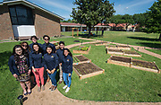 With a grant of $25,000 from Cheniere Energy, Milby students created a community garden at Milby Mission Community Development Corp.