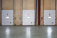 Loading Dock Doors in warehouse