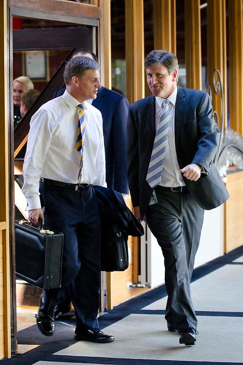 MP Bill English at the Government cabinet meeting Christchurch, New Zealand, Monday, September 05, 2011. Credit:SNPA / David Alexander.
