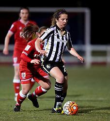 Alice Hassall of Notts County Ladies - Mandatory by-line: Paul Knight/JMP - Mobile: 07966 386802 - 23/02/2016 -  FOOTBALL - Stoke Gifford Stadium - Bristol, England -  Bristol City Women v Notts County Ladies - Pre-season friendly