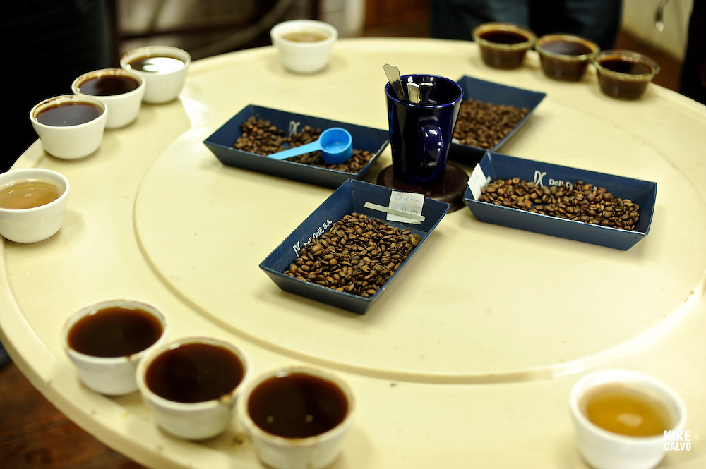 Coffee tasting at Finca Lerida Plantation and Hotel (Panama)