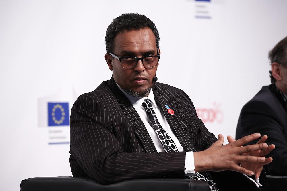 20160615 - Brussels , Belgium - 2016 June 15th - European Development Days - Working together in fragile states for better effectiveness - Mohamed Omer Arteh , Deputy Prime Minister , Somalia © European Union