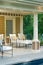 Deck patio Verandah Porch Pool pool house