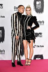 November 4, 2018 - Bilbao, Bizkaia, Spanien - Evan Ross mit Gattin Ashlee Simpson bei der Verleihung der MTV European Music Awards 2018 in der Bizkaia Arena. Bilbao, 04.11.2018 (Credit Image: © Future-Image via ZUMA Press)