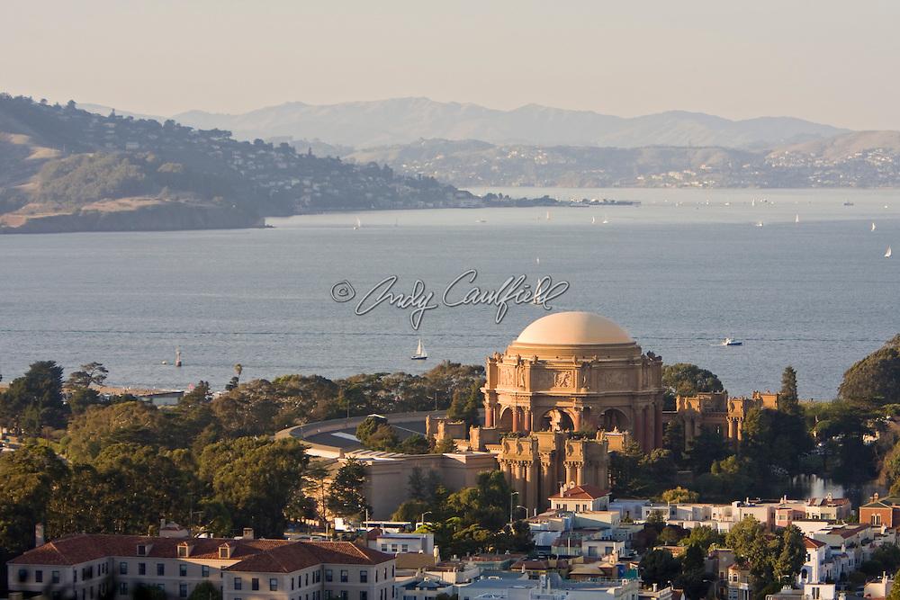 Palace of Fine Arts, Marina District, San Francisco Bay, CA