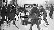 Alexander I (1888-1934) King of Serbs, Croats and Slovenes (1921-1929), King of Yugoslavia (1929-1934). Assassination at Marseilles during state visit to France, 9 October 1934, by Macedonians in pay of Croat nationalists
